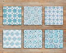 Moroccan Ethnic Drink Coasters x 6
