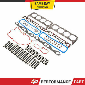 Head Gasket Set Head Bolts 96-02 Chevrolet Suburban GMC Savana K1500 K2500 5.7L