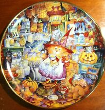 Scaredy Cat by Bill Bell Plate No. Hg4650 Franklin Mint Heirloom Used
