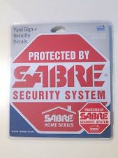 New for Sales - Sabre Home series SABRE Security Decals