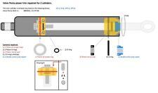 Volvo Penta SX-A, DPS-A/B, TSK-A/B power trim cilinder reparatieset