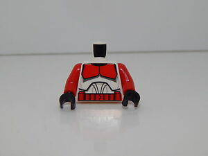 Lego Minifigure Torso Star Wars Shock Trooper T80
