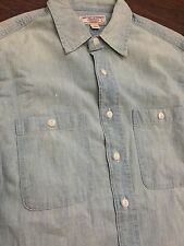 J. Crew Wallace and Barnes - Men's Japanese Chambray Work Shirt - Small