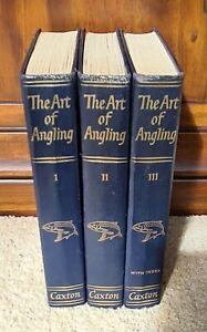 'The Art of Angling Vols: I, II & III' by Kenneth Mansfield - UK Hardbacks