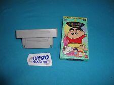Adaptador Juegos JAP US NTSC Super Power Super Nintendo Snes & Shin Chan
