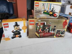 LOTTO 3 SET LEGO-40410-40204-ages edades minifigure- sigillati nuovi