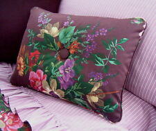 NEW Custom Ralph Lauren Brittany Floral Accent Pillow 1 Button