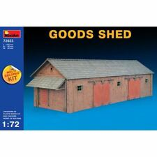 MiniArt 1/72 72023 Goods Shed (Multi Colored Kit, WWII Military Diorama)