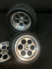 VINTAGE T&A ALUMINUM WHEELS RIMS KYOSHO Ultima 2WD Trinity tires