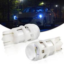 2pcs Ice Blue 3535-SMD T10 168 194 2825 LED Bulbs For Car Parking Position Light