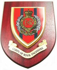 ROYAL CORPS OF ENGINEERS CLASSIC HAND MADE IN THE UK REGIMENT MESS PLAQUE