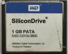 SSD-C01GI-3800 1GB WD SiliconDrive PATA Industrial Grade Compact Flash CF Card