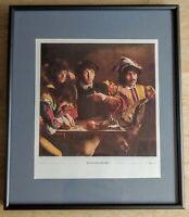 FABIO TRAVERSO Beatles Renaissance Minstrels Framed Smaller Edition Lennon Starr
