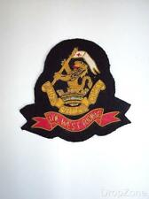NEW The West Riding Cloth / Bullion Wire Blazer Regimental Badge / Patch