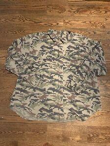 Schmidt Work Wear Mens Cotton LS Button Down Outdoor Hunting Camo Dress Shirt 3X