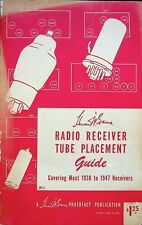 Vintage 1947 Howard Sams Radio Receiver Tube Replacement Guide 1St Ed (1938-47)
