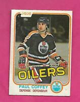 1981-82 OPC # 111 OILERS PAUL COFFEY  ROOKIE VG CARD (INV# D1628)
