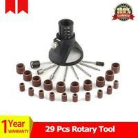 29 Pcs Woodworking Drilling Bit Set Rotary Tool Drill Accessories Metal Plastic