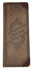 1891, Manuscript Ledger, Moshamon Pa, Centre County, Unique Historical Record