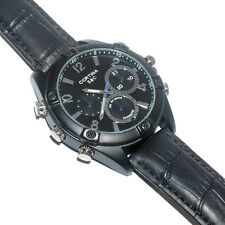 Black Mini Dvr Dv 720P Hd Watch Camera Video Recorder Wrist Camcorder 32Gb Card