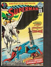 Superman #249 ~~ 1st Terra-Man / Silver Anniv Superman Story ~ 1972 (9.2) WH