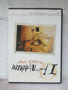 Withnail And I DVD Criterion Collection (includes booklet) VERY RARE OOP