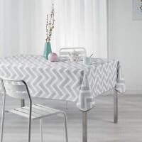 Premium Patterned Tablecloth Seats 4-6 Wipe Clean Table Protector 132x178cm