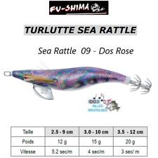 Turlutte Jig Lure FU-SHIMA SEA RATTLE Dos Rose Calamars Seiches Squid Cuttlefish