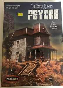 the bates mansion from psycho by polar lights- 1998 model # 5028-new-sealed box
