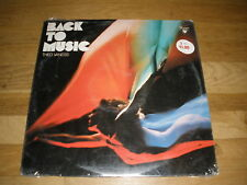 THEO VANESS back to music LP Record - sealed