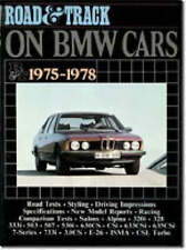 Road & Track  on BMW Cars, 1975-1978 by Brooklands Books Ltd | B/New PB, 1993