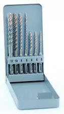 SDS Plus Bohrersatz 5 - 12mm F8extrem , für Stahlbeton, Hartgestein u.a.