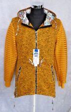 Neu - Damen Jacke - 36/38 - Kapuzenjacke - Softshell Jacke lang - Zipper Hoodie