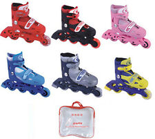 Inline Adjustable Skates , Roller Skates Shoes for kids M Size 6-12years