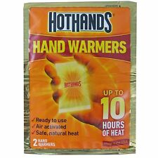 Hothands Hand Warmers Individual Pack Of 2 Up To 10 Hrs Of Heat Expiration 01/19