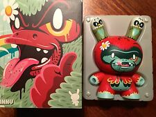 DUNNY TREE HUGGR AWOL BY KRONK  8 INCH RED VERSION LIMITED 500 KIDROBOT  KOZIK