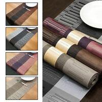 Tischläufer PVC Eleganten Tischband Tischtuch Tischdecke vielen Farben 150*30cm