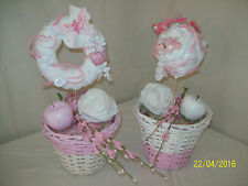 Handgefertigte Deko-Blumentöpfe & -Vasen im Shabby-Stil