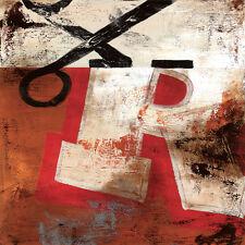 "36""x36"" R by RODNEY WHITE LETTER ALPHABET GICLEE CANVAS"