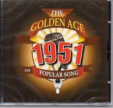 CD GOLDEN AGE OF POPULAR SONG 1951 LANZA MITCHELL DAY YOUNG ATWELL HARRIS CROSBY