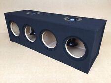 """Custom Ported / Recessed Sub Box Enclosure for 4 8"""" Sundown X-8 X8 Subs - 32 Hz"""