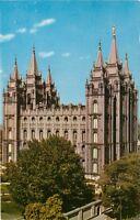 Mormon Temple Salt Lake City Utah UT Temple Square Postcard