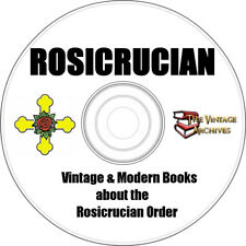 Rosicrucian Vintage Book Collection on CD