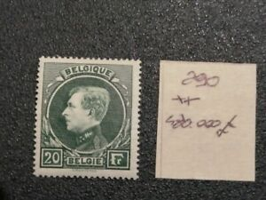 BELGIO/BELGIUM, 20 FRANCHI, NEW WITH INTACT RUBBER, BEAUTIFUL OF VALUE