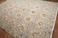 9' x 12' Traditional Oriental Area Rug 100% New Zealand wool 9x12 new Blue