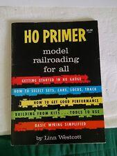 HO Primer Model Railroading for All by Linn Westcott (1973 Paperback) handbook