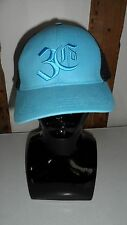 Limited Edition 3rd Culture Blue Cotton & Black MeshBaseball Cap Adjustable Size