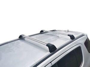 Alloy Roof Rack Slim Cross Bar for Isuzu MU-X 2013-20 with factory roof rails