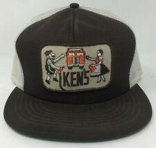 Vintage Tonkin Snapback Ken's Seattle WA Hat Patch