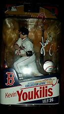 Kevin Youkilis signed Un-Opened Mcfarlane Action Figure Boston Red Sox Autograph